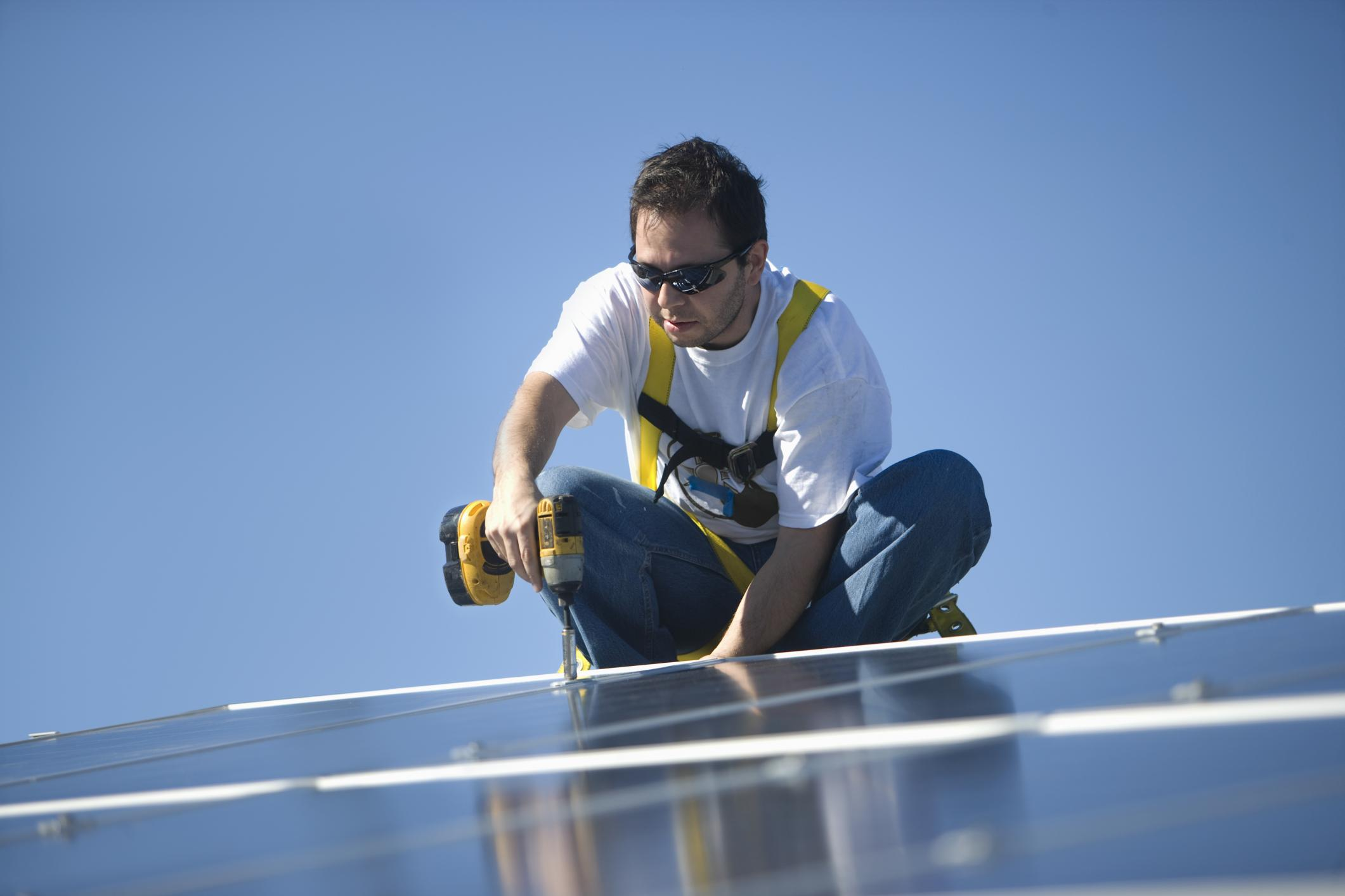 This is a picture of a Idaho falls solar savers services.
